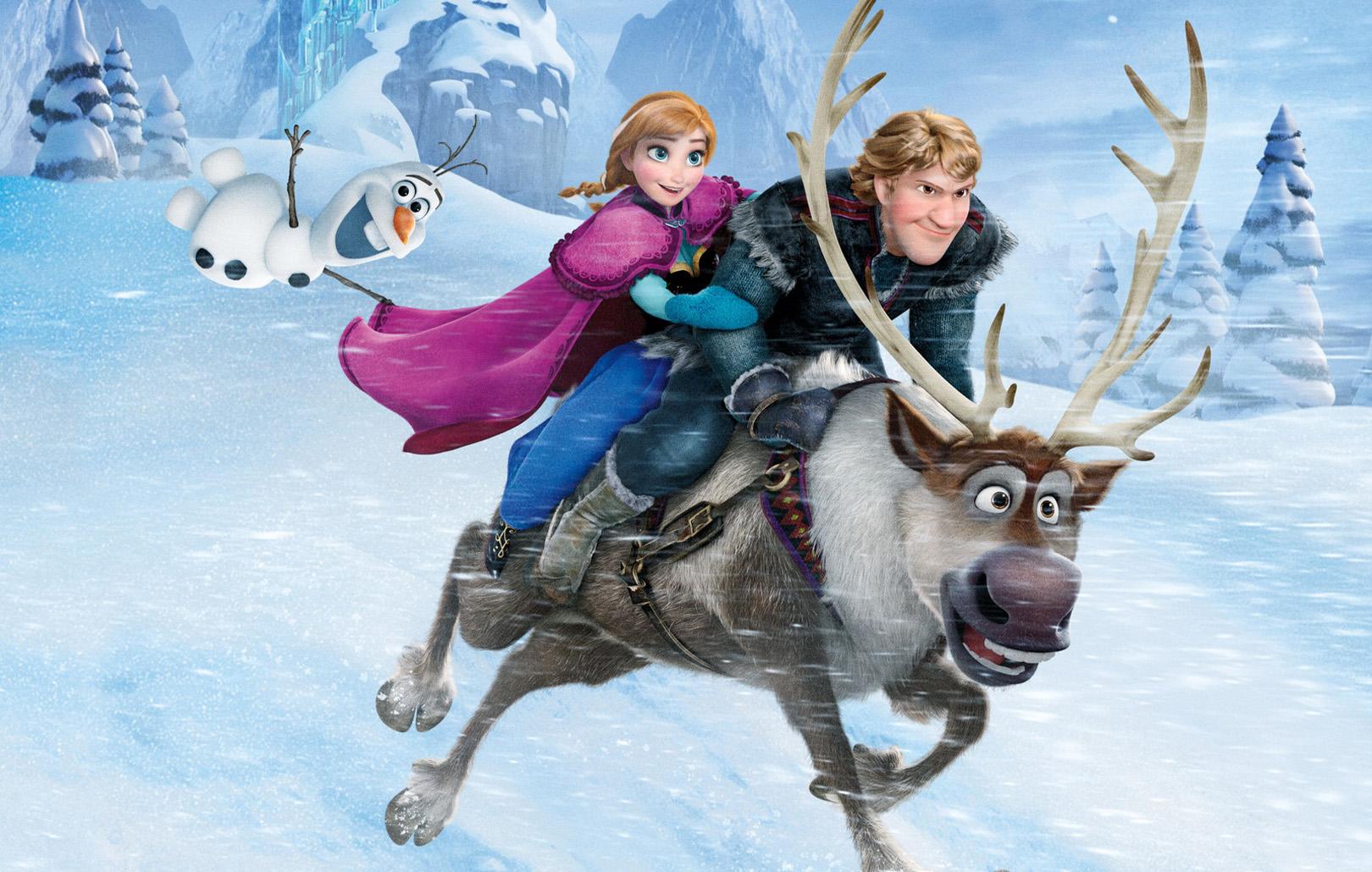 Зимние мультфильмы