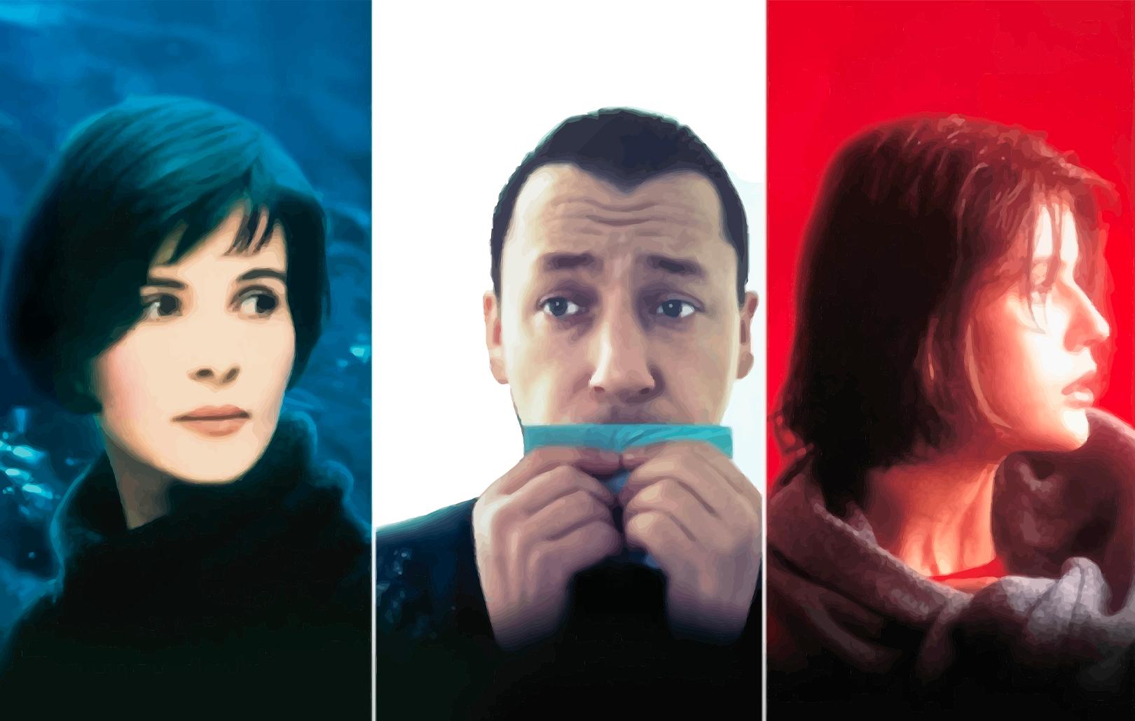 Три цвета: Синий, Белый, Красный
