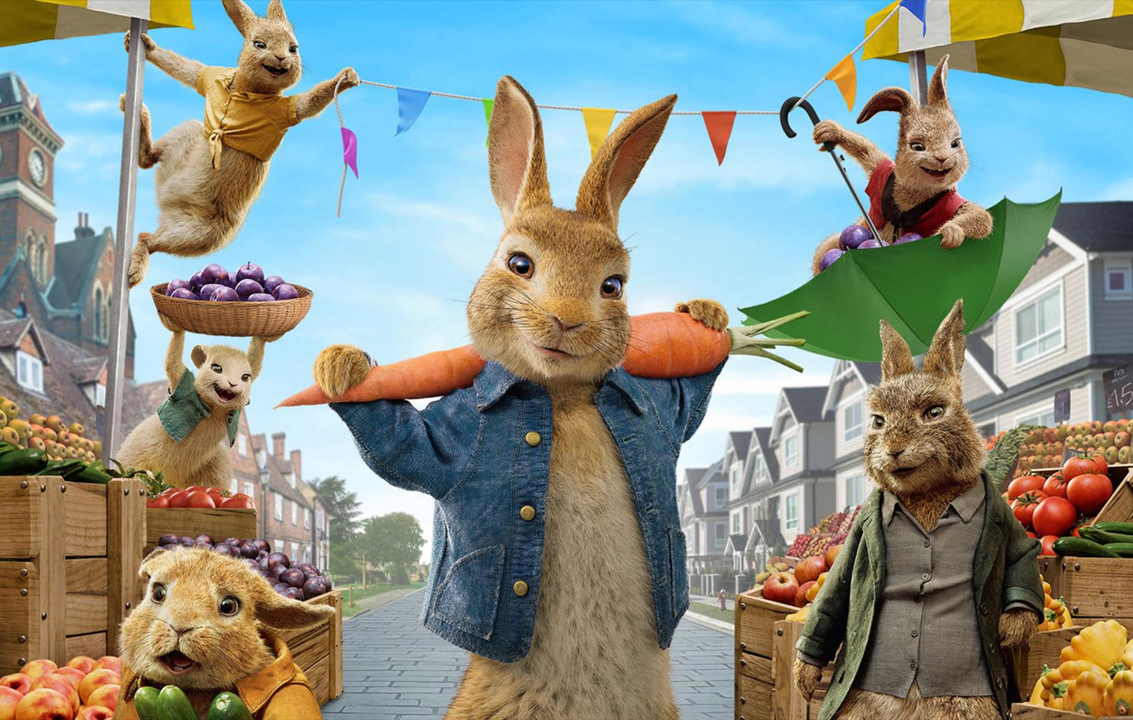 Кролик Питер: все части