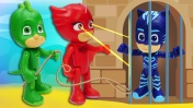 СКАЗКА Герои в масках – Аллет в темнице Ромео – Машины истории с игрушками