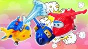Сказки для детей - Суперкрылья Джетт и Авария в аэропорту - Мультик из игрушек
