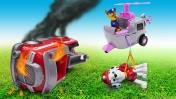 Машины сказки для детей - Мультик как Щенячий патруль спасал Маршала. Видео с игрушками