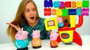 Свинка Пеппа в магазине игрушек. Видео для детей