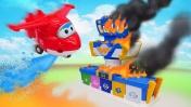 Сказки для детей - Аэропорт Супер крыльев в беде - Машины сказки
