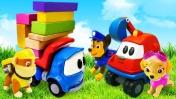 Щенячий патруль и грузовичок Лева - Сказки Маши для детей - Мультик из игрушек