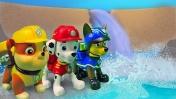 Мультик из игрушек: Щенячий патруль и дамба. Машины сказки