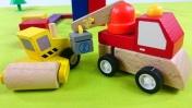 Мультфильмы про рабочие машины на стройке: Строим дом