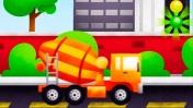 Trucks (грузовики): Обзор детского приложения