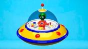 Летающая тарелка: Видеообзор детского приложения