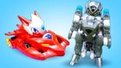 Трансформеры Монкарт обхитрили Зеро. Машины сказки онлайн. Игрушки для мальчиков