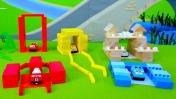 Мультики про машинки: Строим новые гаражи.