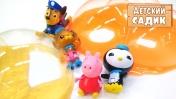 Детский сад Капуки Кануки - Рисуем бабочек