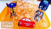 Детский сад Капуки Кануки - Маквин и Джетт соревнуются.