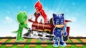 Герои в масках и Призрачный поезд - Машины сказки на ночь