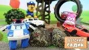 Детский сад Капуки Кануки - Машинки в автосалоне