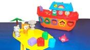 Видео для детей: Кораблик. Фигуры и цвета для детей