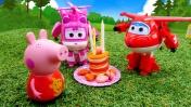 Джет и Супер Крылья помогают Свинке Пеппе! Сказки онлайн в видео для детей.