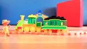 Герои мультфильма Поезд Динозавров: Считаем от 1 до 5