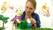 Видео для детей: тетя Маша и собачка Жужа