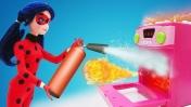 Мультик сказка из кукол. Леди Баг спасла День рождения Маринетт. Игры для девочек