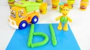 Пластилин Play Doh. Учим буквы - буква Ы