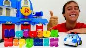 Робокар Поли покупает Штаб квартиру - Магазин игрушек