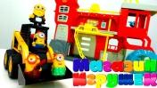 Миньоны покупают пожарную станцию в Магазине игрушек