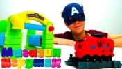 Веселые паровозики из Чаггингтона в Магазине игрушек. Видео для детей