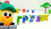 Грузовичок Лева - Учим буквы. Развивающее видео
