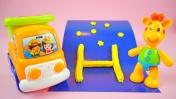 Пластилиновая азбука для малышей. Лепим букву Н.