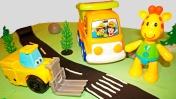 Алфавит для детей. Мофи и грузовичок учат буквы.