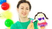 Маша Капуки Кануки и ПлейДо косички. Видео для детей