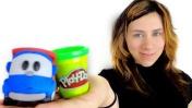Видео для детей. Цветочек Play Doh для Симки.