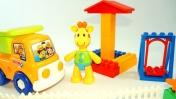 Пластилиновая Азбука с жирафиком Мофи. Уборка. Буква У