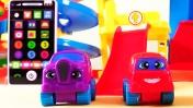 Учим алфавит с машинками - Развивающий мультик