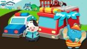 Мультик про машинки - Город Панды - детское приложение
