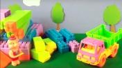 Развивающий мультфильм. Поросята строят гараж. Видео для детей.