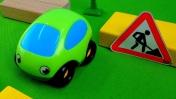 Развивающие машинки для малышей - Дорожные работы и правила дорожного движения