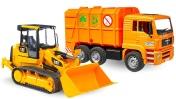 Развивающие машинки— Мультики для самых маленьких: Машины-Помощники две серии— Мусоровоз и Трактор