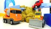 Машины -Помощники - Гоночный автомобиль, бульдозер и другие