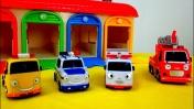 Пожарная машина, скорая помощь, полицейская машина и эвакуатор. Видео машинки для мальчиков
