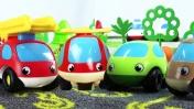 Маленькие машинки - Большой сборник! Видео приключения для детей