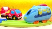 Мультики про машинки и паровозики - Видео для детей