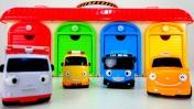 Мультики про машинки - Автобус Тайо и машины -помощники