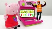 ТукТук Шоу - Видео с игрушками - Чиним плиту