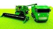 Машины-Помощники: Трактор, Комбайн, Грузовик