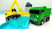 Машины -Помощники - Мультик с игрушками - Сразу 2 серии