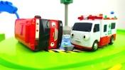 Машины -Помощники - Автобус, скорая помощь и эвакуатор
