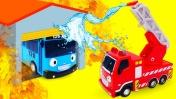Машины-помощники— Развивающее видео про машинки для самых маленьких— Трудолюбивые машины