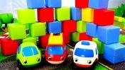 Мультики про машинки - Кубики и развивающее видео